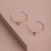 Aurora Earrings-Gold