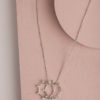 Italia Pearl Necklace-Silver