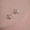 Sardinia Star Earrings-Silver