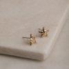 Sardinia Star Earrings-Gold