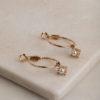 Hartley Earrings-Gold