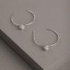 Aurora Earrings-Silver