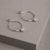 Hartley Earrings-Silver