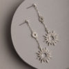 Fallon Earrings-Silver