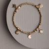 Fenella Charm Bracelet-Gold