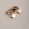 Tasia Huggie Earrings-Gold