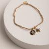 Angelica Starburst Bracelet-Gold