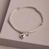 Keyla Heart Bracelet-Silver