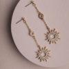Fallon Earrings-Gold