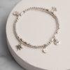 Fenella Charm Bracelet-Silver