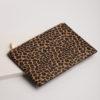 Large Clutch Bag - Leopard Print