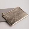 Large Clutch Bag - Gold Metallic